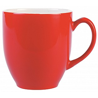 Red Promotional Broadway Mug
