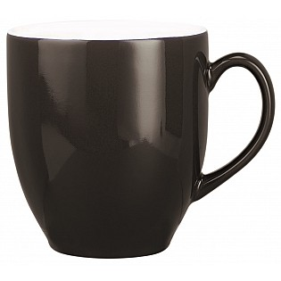 Black Printed Broadway Mug