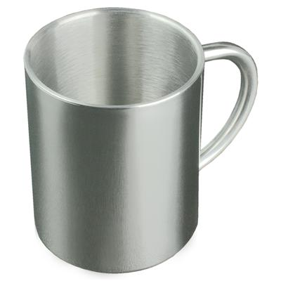 Stainless Steel Mugs At Work