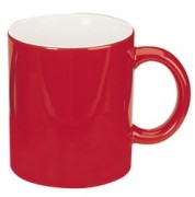 Red Personalised Can 2 Tone Mugs