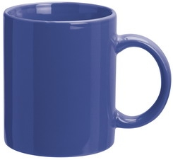 Blue Promotional Can Mugs
