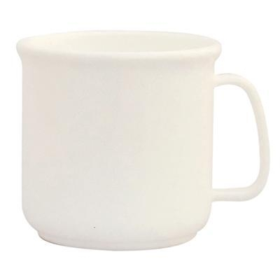 White Personalised Plastic Mugs