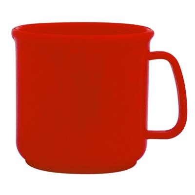 Red Promotional Plastic Mugs