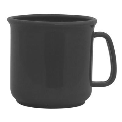 Black Personalised Plastic Mugs