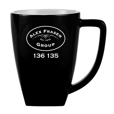 Personalised Black Rocco Mugs