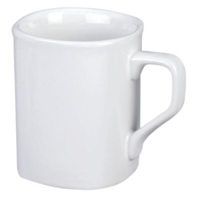 White Branded Square Photo Mug