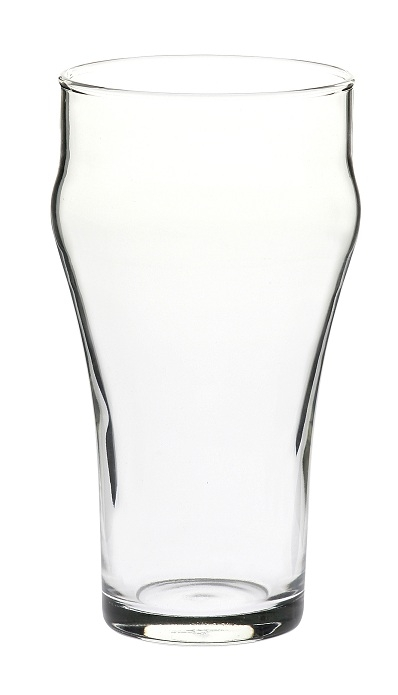 bell soda promotional beer glass