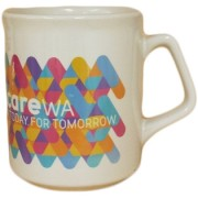 flare digital print promotional mug