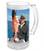 Beer Stein Clear Sublimated