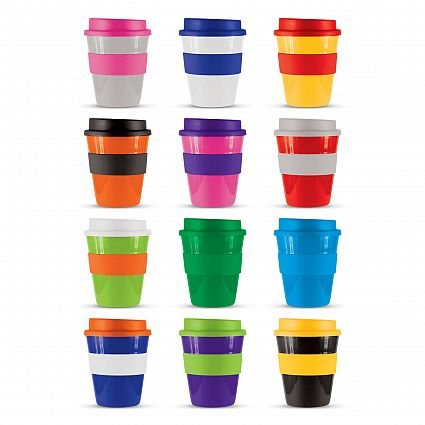 Re-usable promotional coffee cups